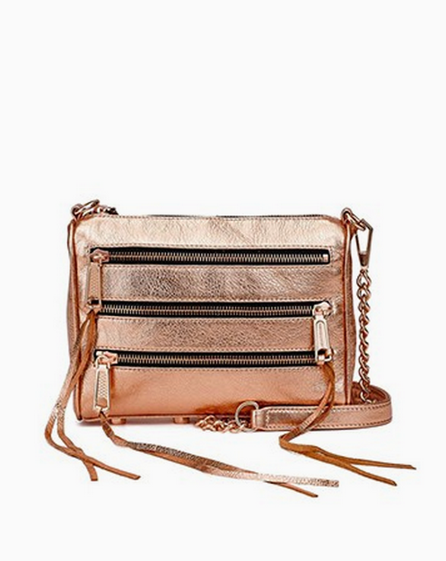 LOVE this Rose Gold Purse!! - click to see more summer fashion ideas!