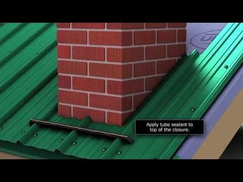 How To Install Chimney Flashing When Using Union S