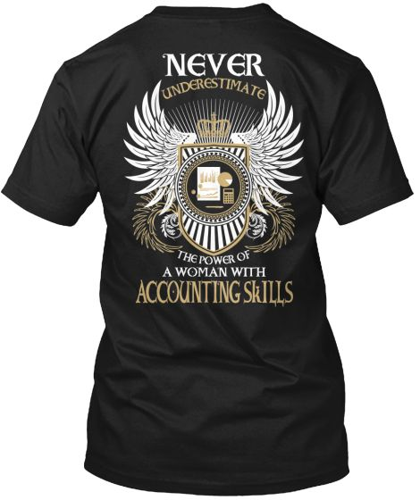 Accounting Skills T-Shirt