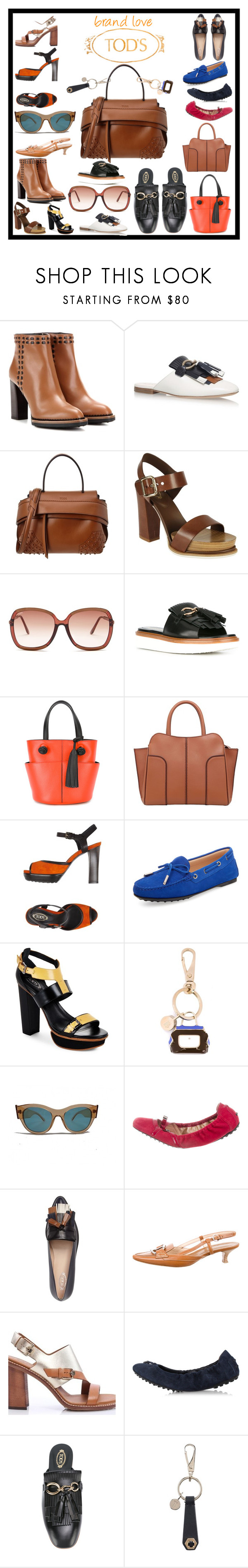 """""""Tod's"""" by erica-tais ❤ liked on Polyvore featuring Tod's"""