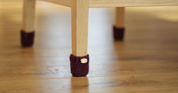 Home Decoration Floor Protector Crochet Chair Socks Chair Leg Socks Table Socks Furniture Accessories Home Accessories Eco Friendly Gift Leather Butterfly Chair Modern High Chair Butterfly Chair