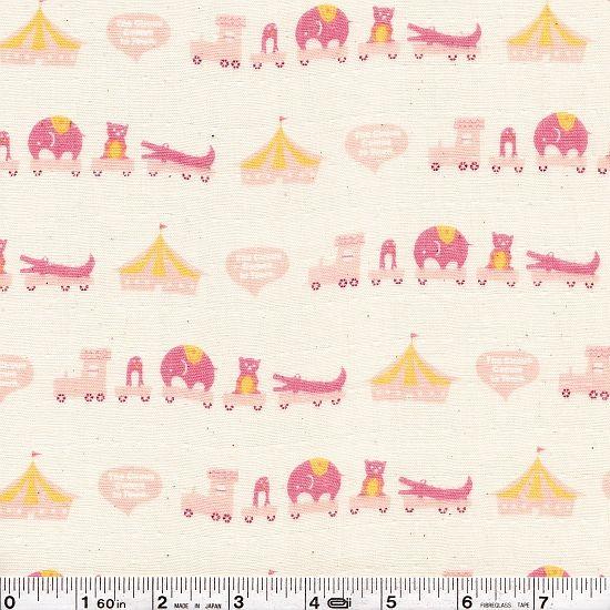 Shop | Category: Animals & Bugs | Product: Animal Circus Gauze - Pink