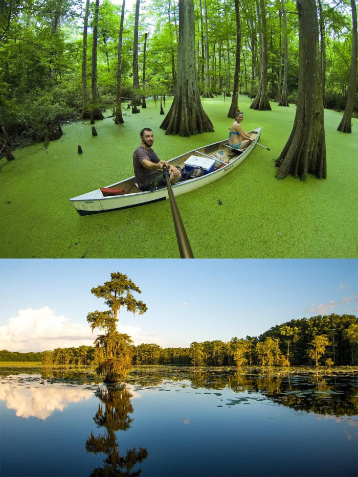 10 amazing camping spots in louisiana are an absolute must for Fish camping boat