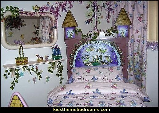 . fairy bedding fairy themed room  fairy bedroom decorating ideas