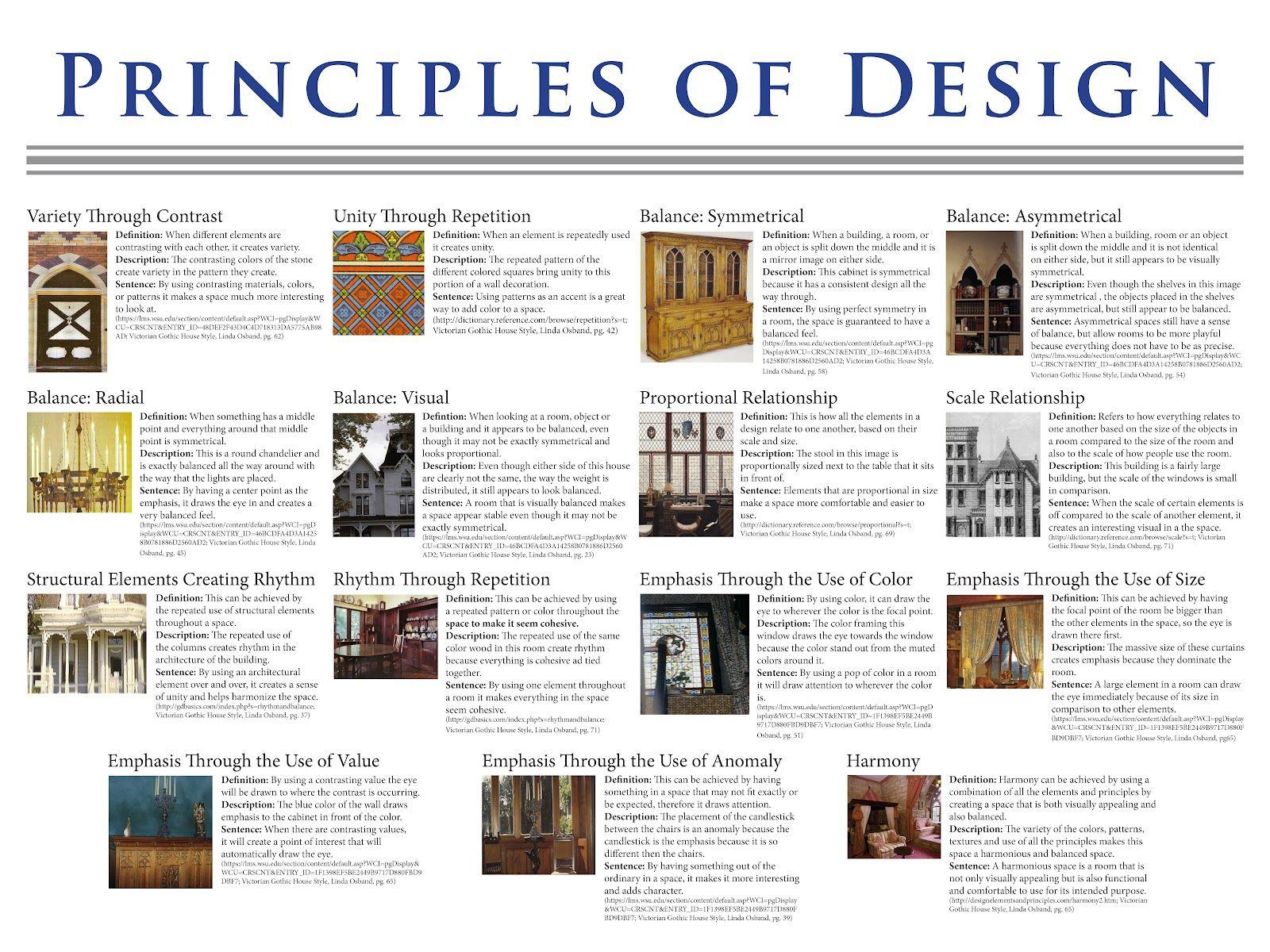 Art Principles Of Design Bing Images Principals Of Design Principles Of Design Design Theory