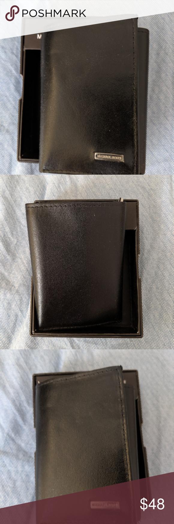 Michael Kors Men S Trifold Wallet Nwt Bifold Wallet Men Michael Kors Men Trifold Wallet