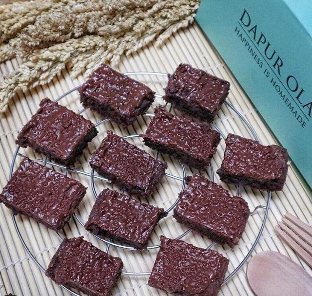 Resep Brownies Ovomaltine Coklat Resep Kue Komplit Resep Resep Kue Coklat