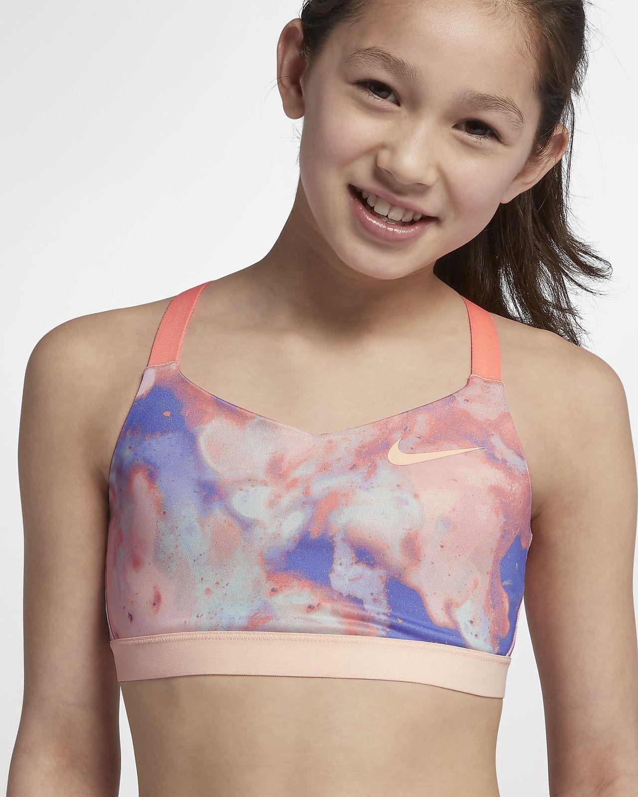 743ed28c3 Nike Favorites Big Kids  (Girls ) Sports Bra - M (10-12) Crimson ...