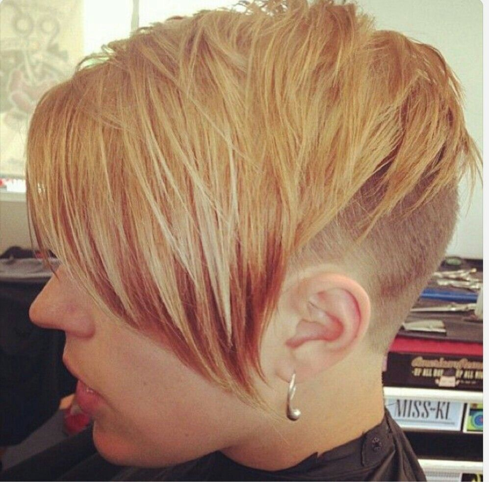 stunning super short haircuts ideas hairstyles pinterest