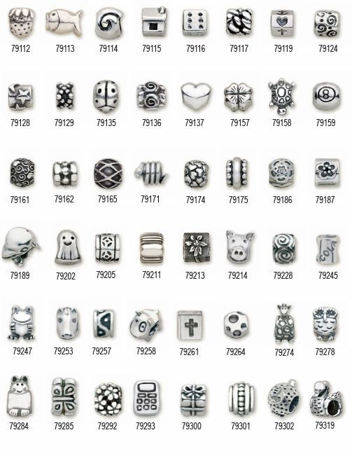 pandora rose charms discontinued