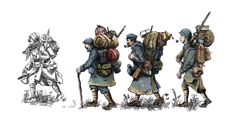 Boîte collector 1914 - 1918   Война