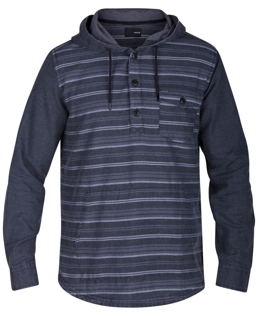 Hurley Adds Super Comfortable Style To Your Hoodie Collection With This Stripe Print Pullover Cotton Ma Hoodies Men Mens Sweatshirts Hooded Sweatshirt Men [ 1080 x 884 Pixel ]