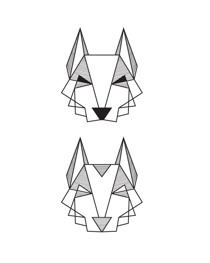 In Memory Of My Beloved Dog Cant Wait To Get This Inked Tattoo Husky Geometric