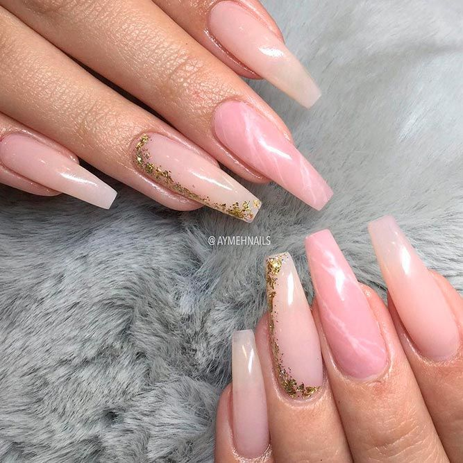 Magnificent Ballerina Nail Shape Designs | Ongles