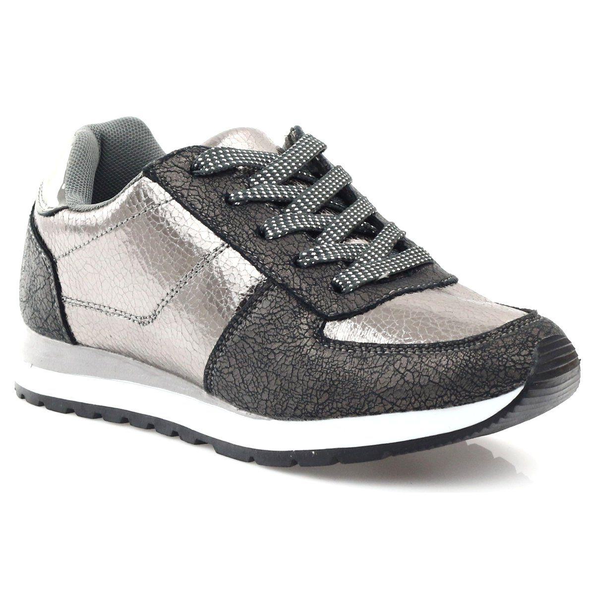 Mcarthur Buty Sportowe Miedziane Szare Sneakers Shoes Fashion