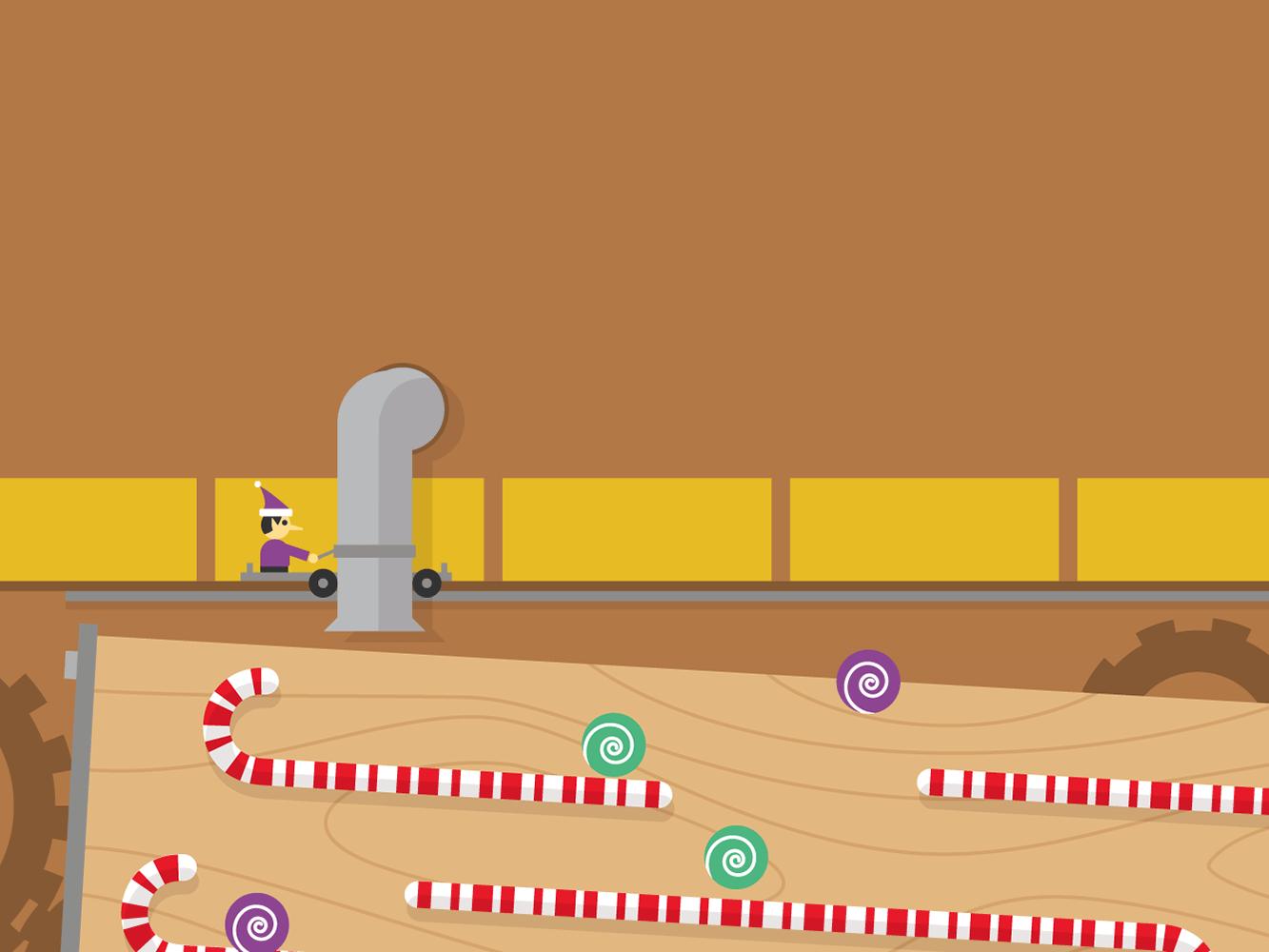 Gumball Tilt — Google Santa Tracker https//plus.google