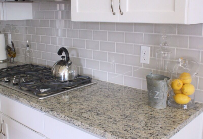 Best Light Grey Subway Tile Backsplash Light Grey Backsplash 640 x 480
