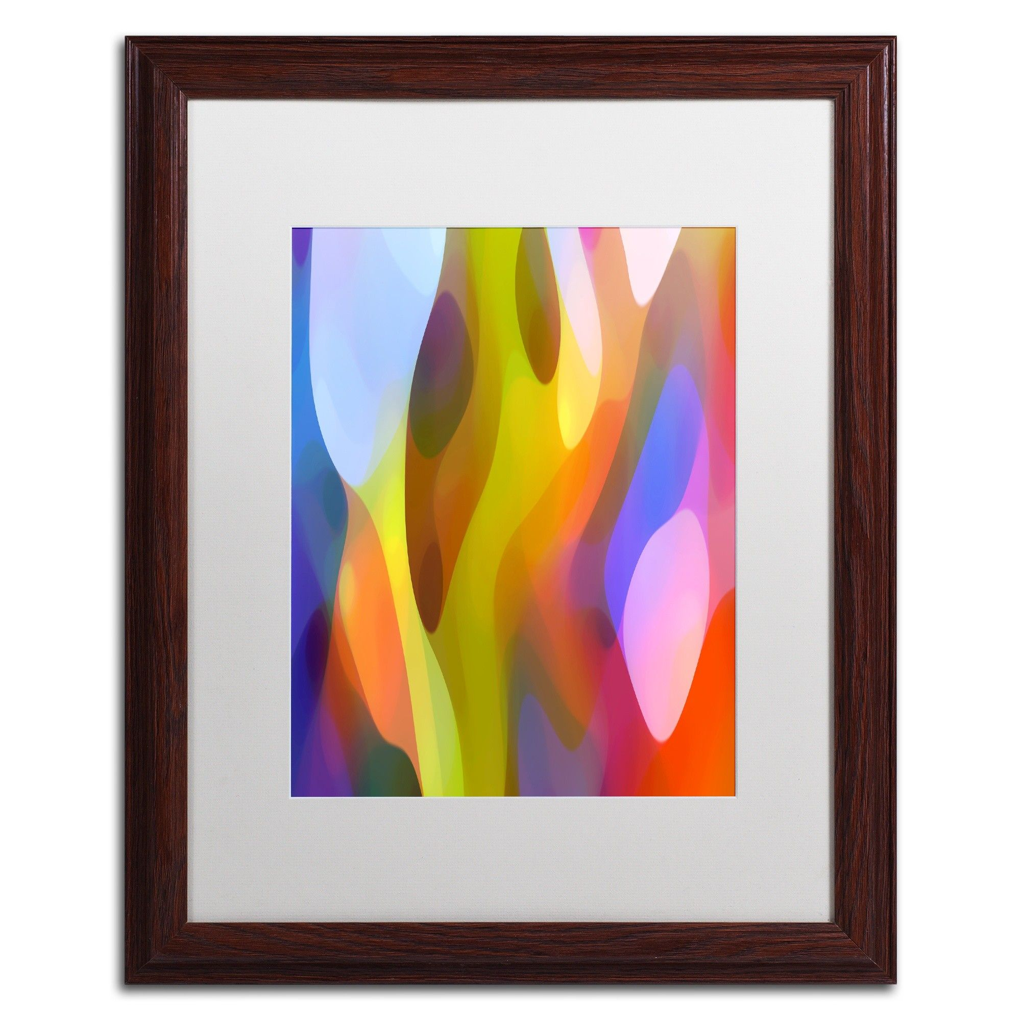 'Dappled Light 3' by Amy Vangsgard Framed Graphic Art