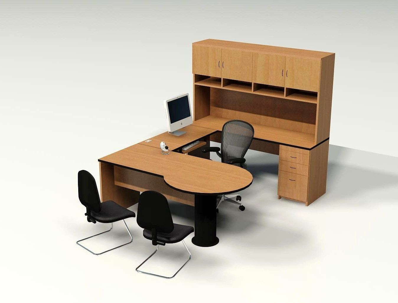 Comfortable Office Chairs For Small Spaces: Comfortable And Classy Office Furniture On Office