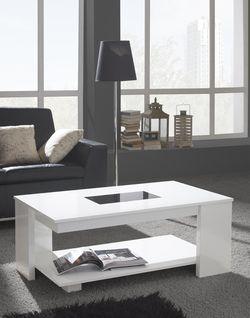 Table Basse Relevable Riccardo Disponible En 4 Coloris Table Basse Relevable Table Basse Meuble