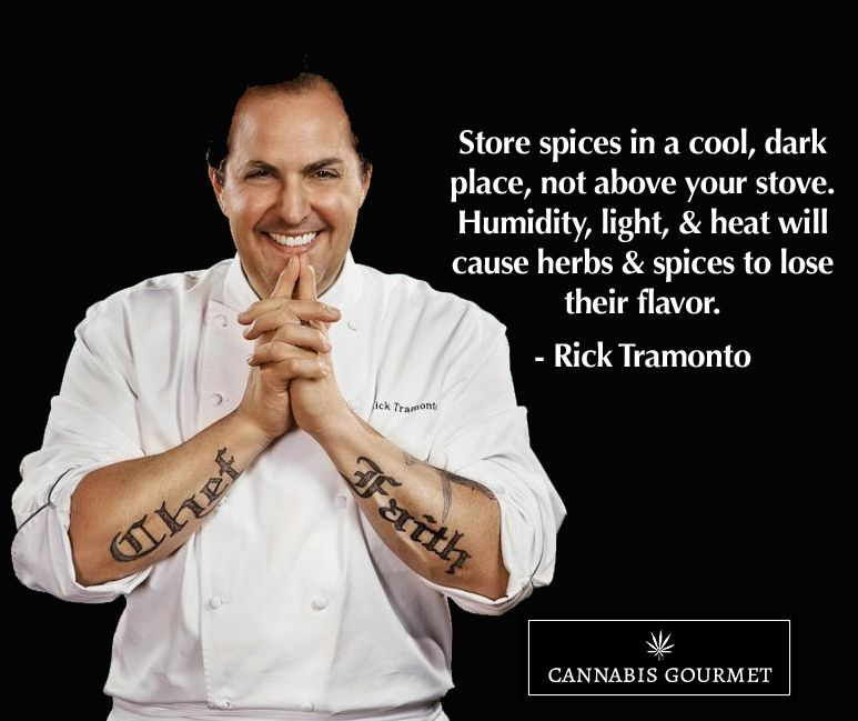#ProTip: Store spices correctly for optimal flavor #protip https://cannabisgourmet.buzz #cannabis #foodiefact #cannabisinfused #foodie #cooking