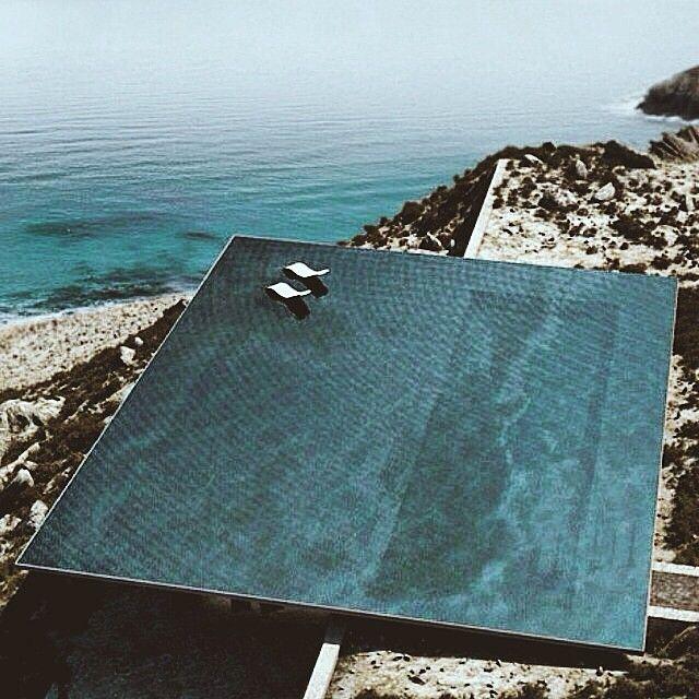 maidensydney: Inspirado por la imagen perfecta Grecia hoy ....  Infinity pool, Grecia.  Vamos @ tarrachong & # 160; !!