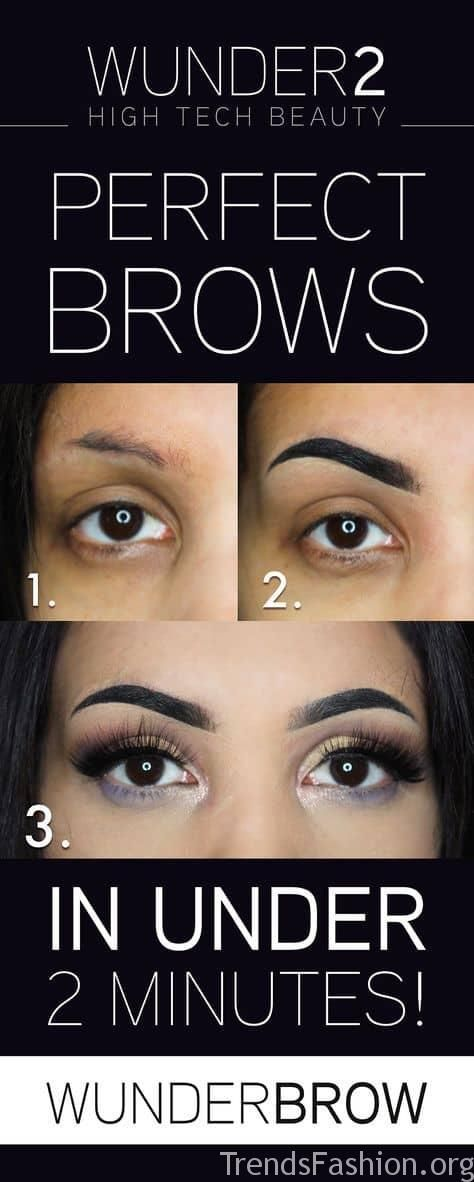 20+ Step-by-Step Eyebrows Tutorials to Perfect Your Look ...