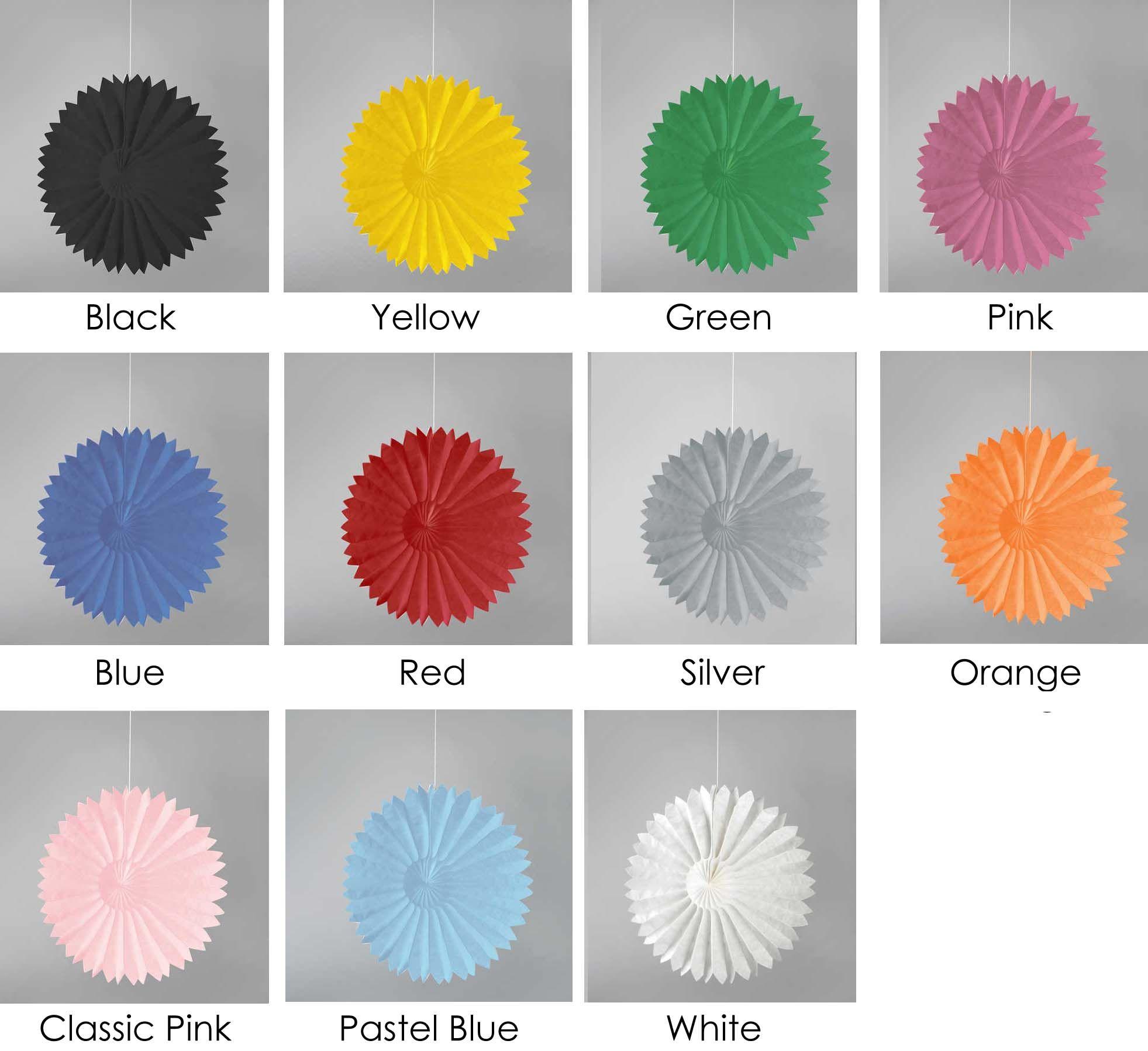 Tissue Paper Decorations 10 Decorative Paper Tissue Fans