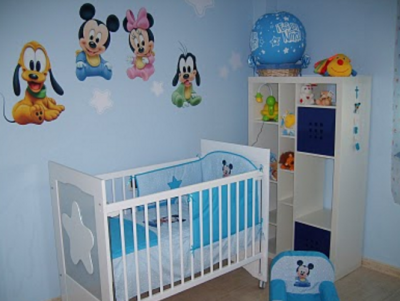 Cuartos para bebes varones decorados cuartos para bebes for Cuartos para ninas decorados