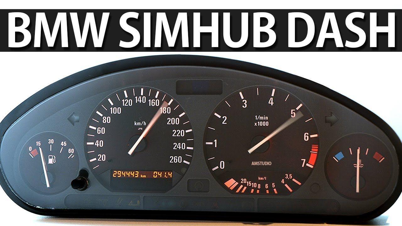 How To Wire Bmw Speedo Cluster For Simulator Simhub Bmw Bmw E30 E30