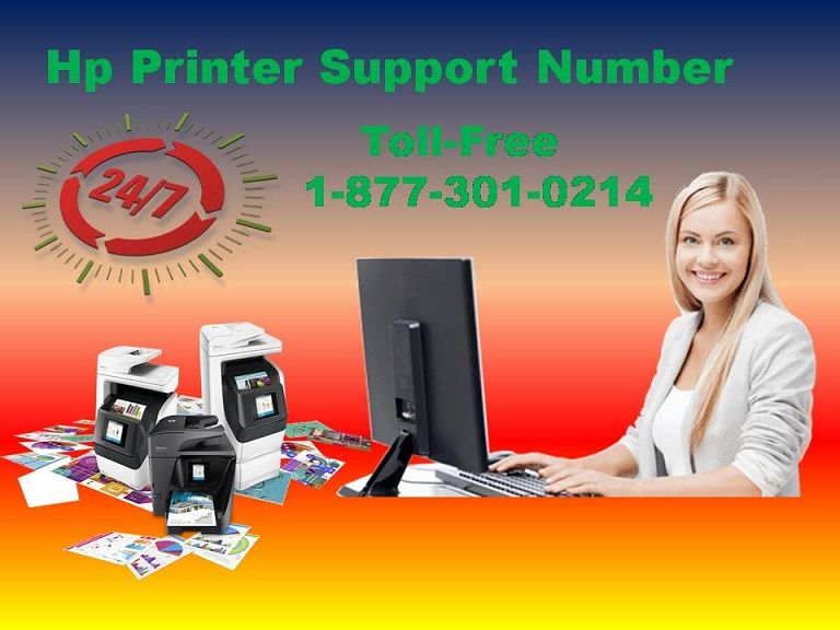 Find out the HP printer customer support number +1 877 301