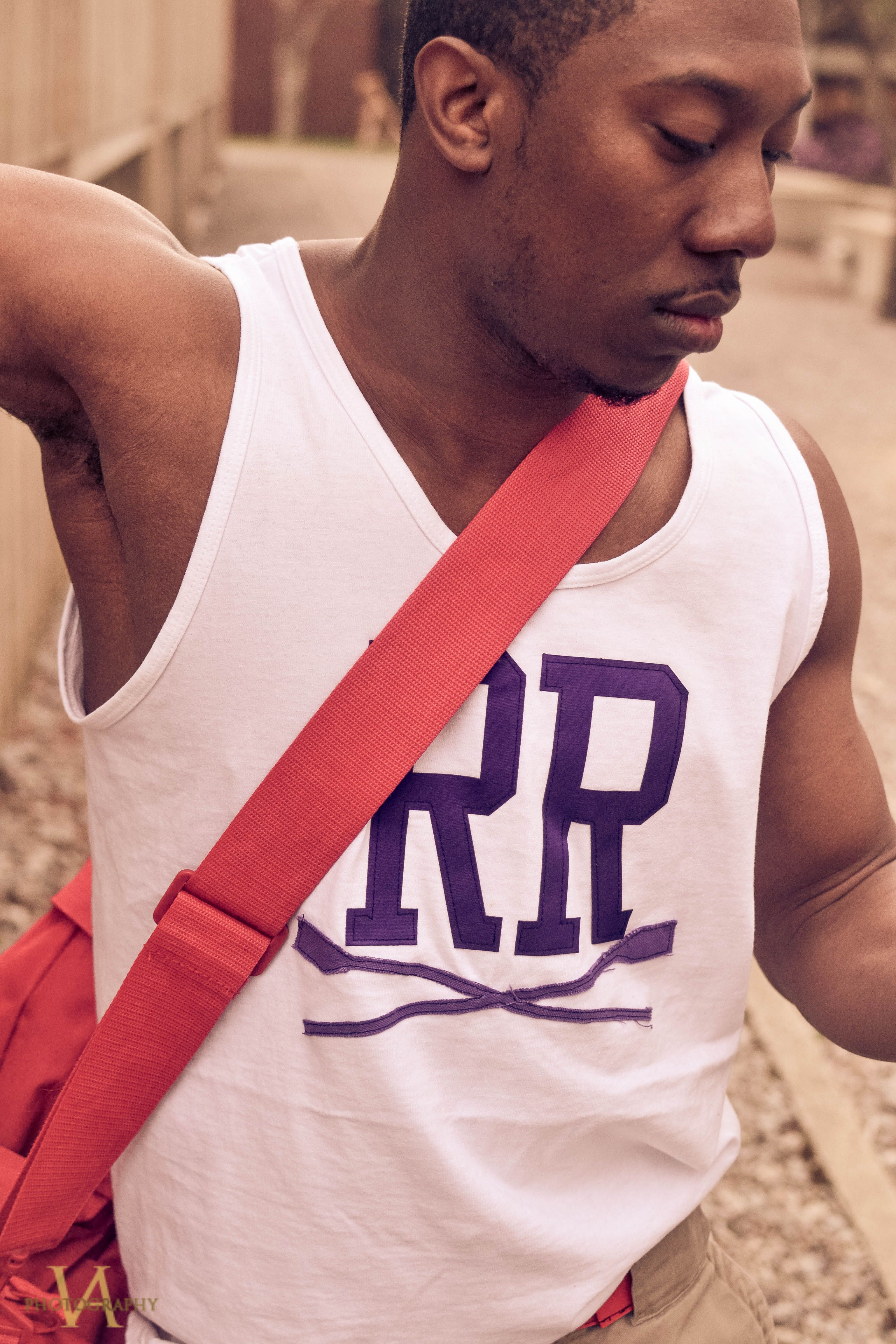 Rowing Match tank white and purple Lifestyle brands, Match
