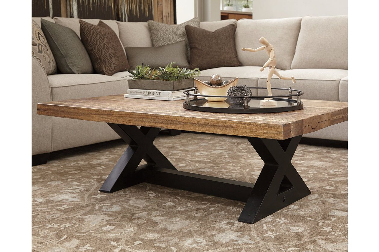 Wesling Coffee Table Ashley Furniture Homestore Furniture Coffee Table Wood Coffee Table [ 840 x 1260 Pixel ]