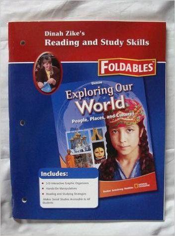 Dinah Zike S Reading And Study Skills Foldables Glencoe