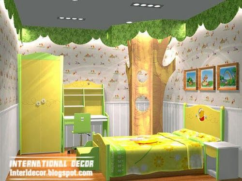 Top Kids Room Themes And Decorating Ideas Room Themes Childrens Bedroom Decor Cool Kids Bedrooms International ideas for kids rooms