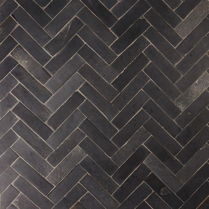 Nero Parquet limestone tiles 14400  case pavimenti