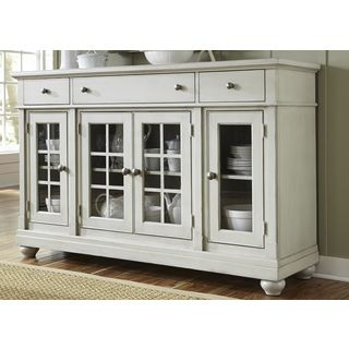 Shop For Cottage Harbor Dove Grey Buffet Get Free Delivery At Overstock