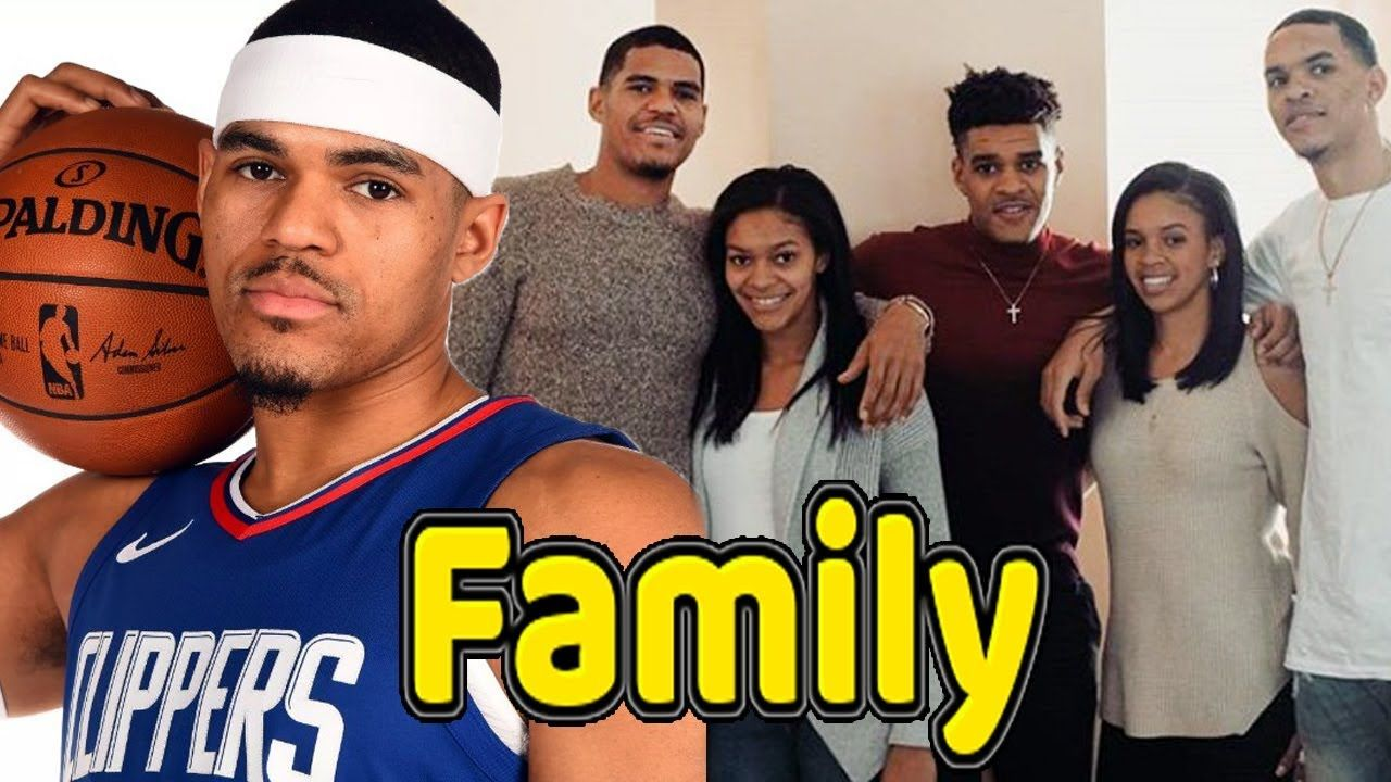 Tobias Harris Family Photos With Father Mother And Girlfriend 2019 Beckham Jr Simmons Family Famous Sports