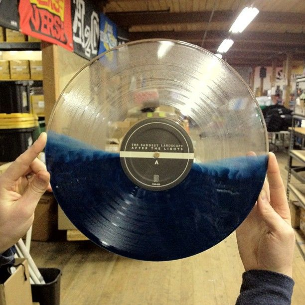 Saddest Landscape Colored Vinyl Records Vinyl