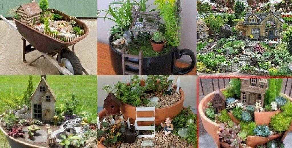 C mo hacer un jard n en miniatura paso a paso miniatura - Como hacer un jardin vertical paso a paso ...