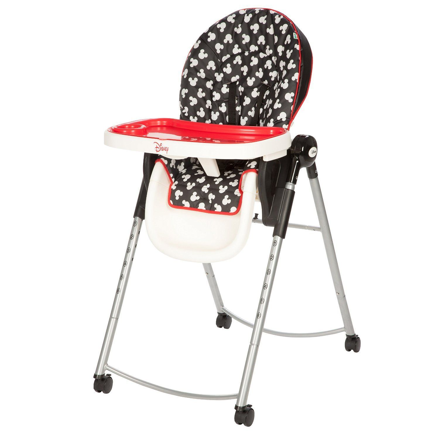 Disney Baby Adjustable High Chair Mickey Silhouette HC230CLV