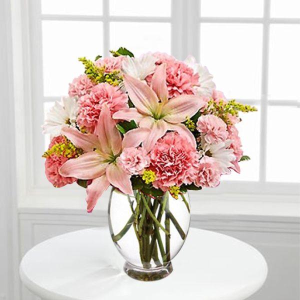 Pink Beauty Good Order Flowers Online Flowers Flower Arrangements