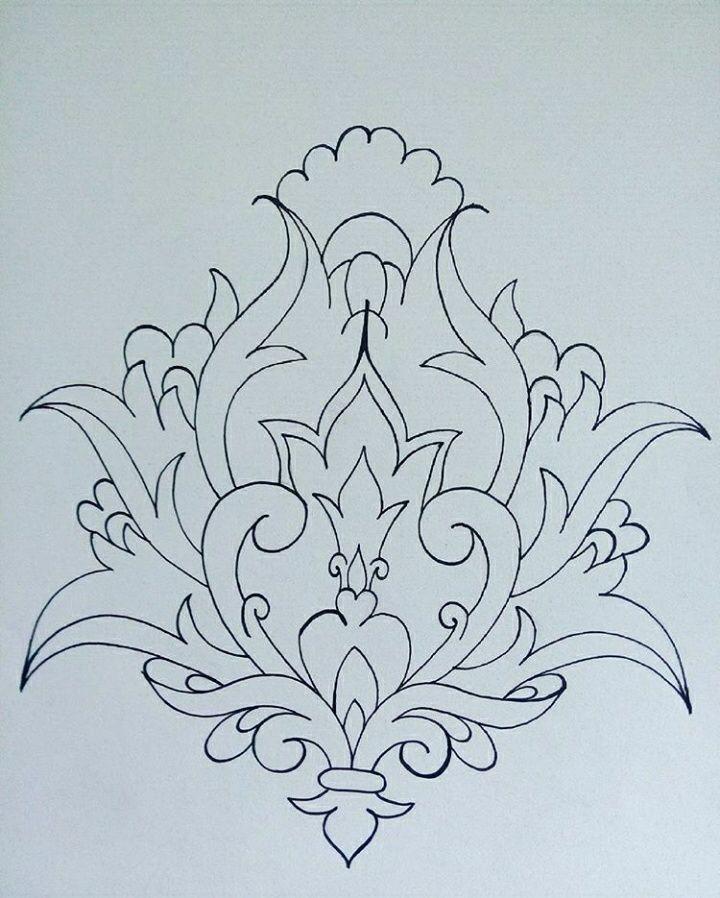 Carpet Design In Black And White طراحی فرش سیاه و سفید نقش و نگار Islamic Carpets Design Boyama Sayfalari Mandala Sanat Desen Nakis Desenleri