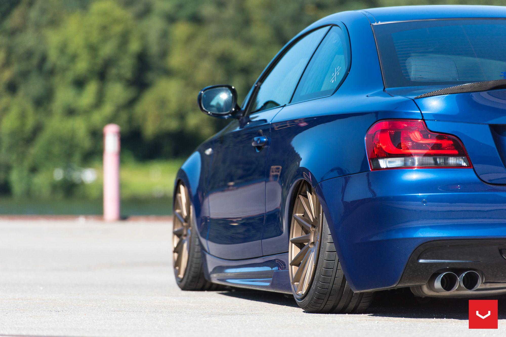 BMW E I Coupe MPackage VOSSENWheels Provocative Eyes - Bmw 135i tune