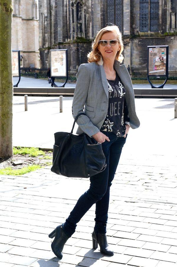 Sac Sonia Rykiel Veste Tara Jarmon jogg jeans Diesel