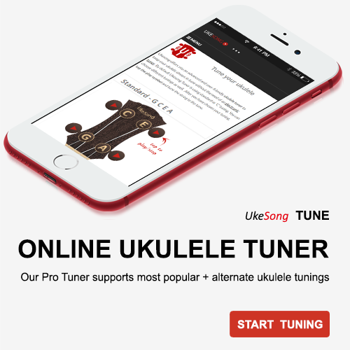 Online ukulele tuner. Keep your ukulele in tune with uke