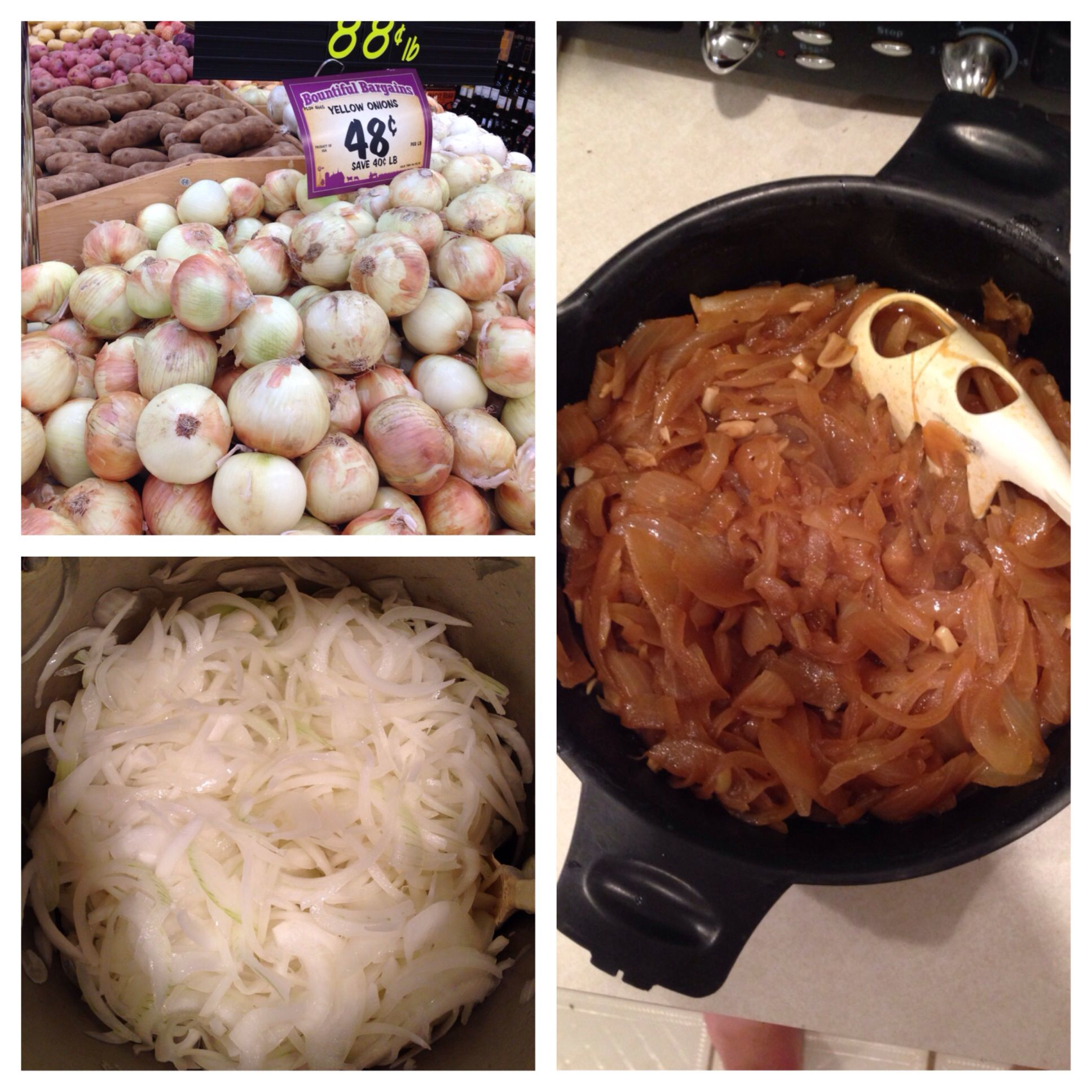 I just can't get enough, I love cooking sweet onions