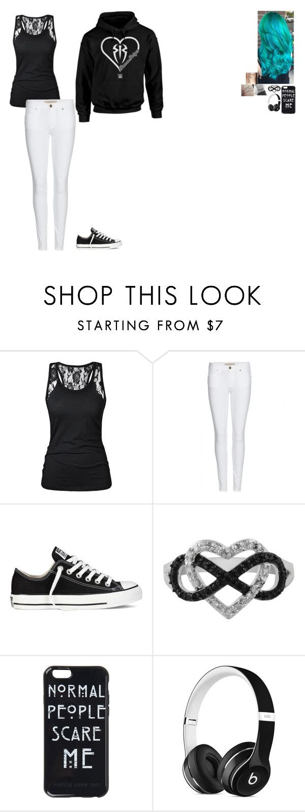 """""""Untitled #161"""" by ashleighb15 on Polyvore featuring Burberry, Converse, Jewel Exclusive and Beats by Dr. Dre"""