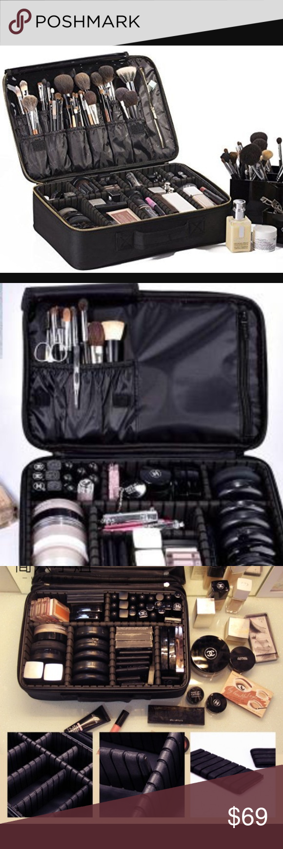 Makeup bag great for organization or travel | Makeup bag