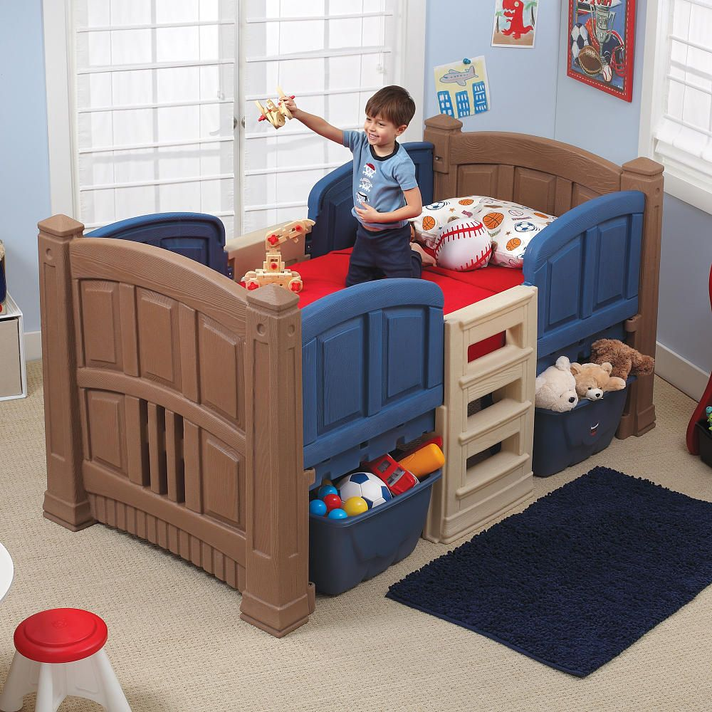 Step2 Boy S Loft Storage Twin Bed Step2 Toys R Us Low
